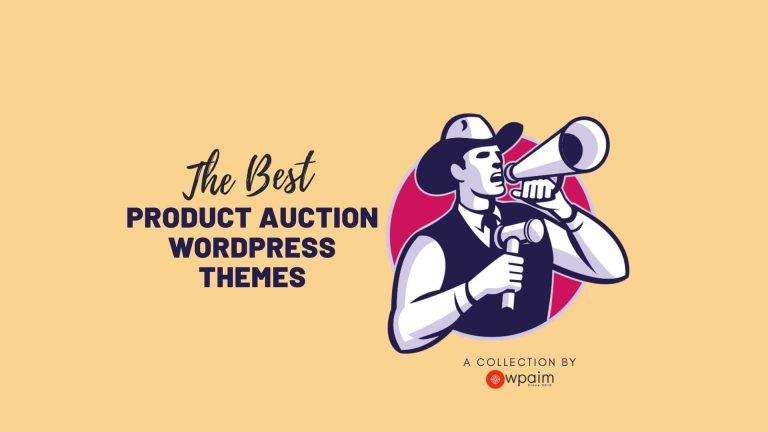10 Best WordPress Auction Themes 2020