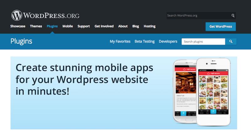 Mobile App Plugin