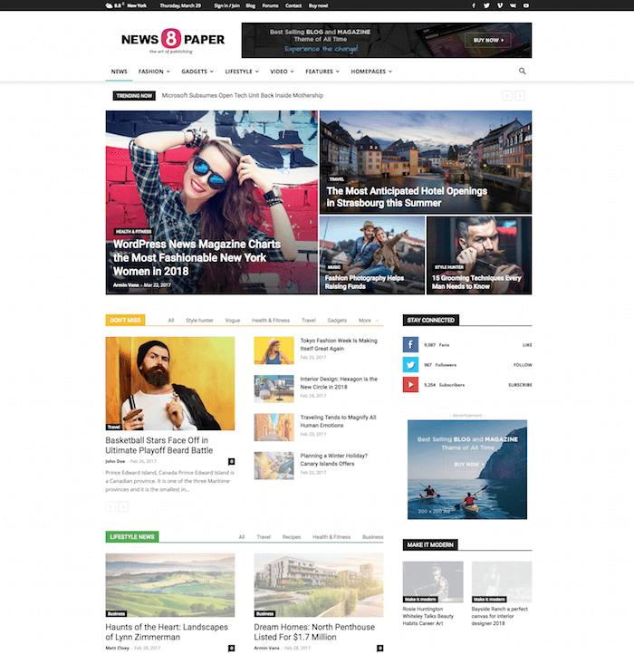 Newspaper-WordPress-Theme