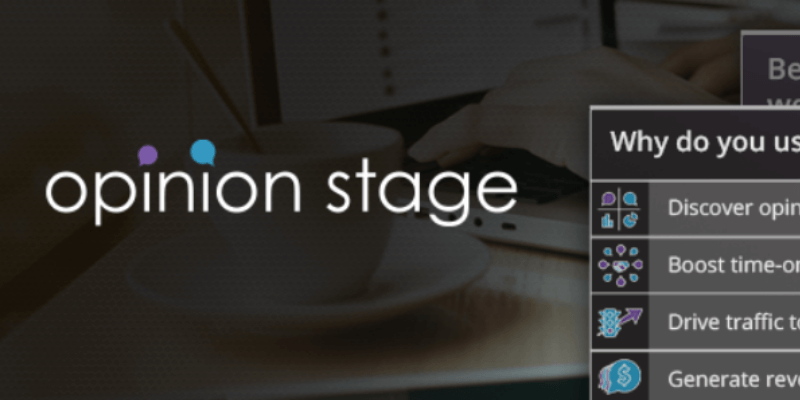 opinion stage