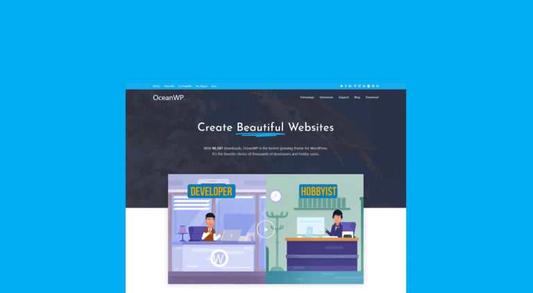 OceanWP Review: A Powerful Free WordPress Theme