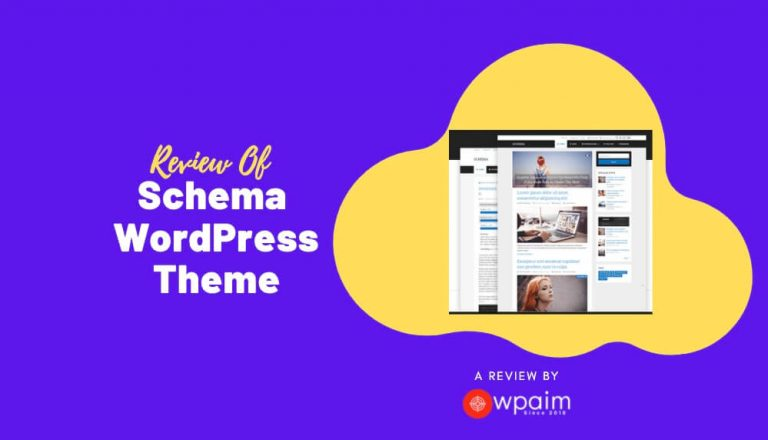 Schema Theme Review: An SEO First WordPress Theme