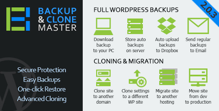 WordPress-Backup-Clone-Master