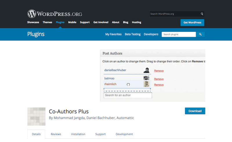 Co-Authors Plus